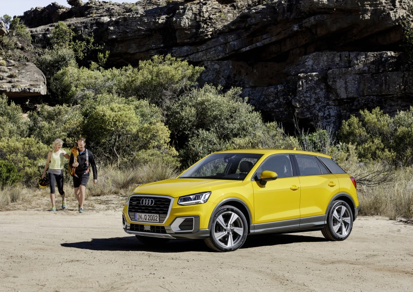 Audi Q2 – new compact crossover debuts in Geneva Image #451974