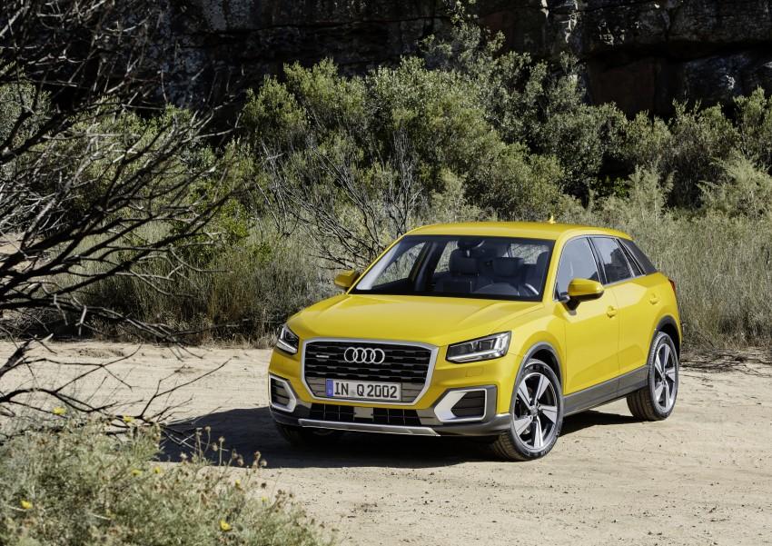 Audi Q2 – new compact crossover debuts in Geneva Image #451973