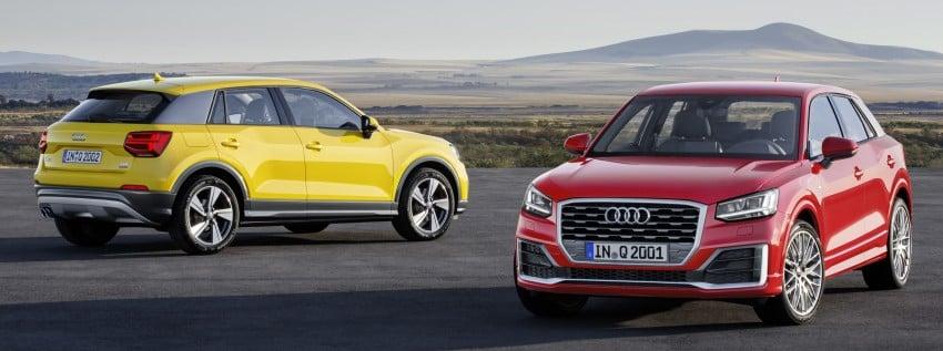 Audi Q2 – new compact crossover debuts in Geneva Image #451972