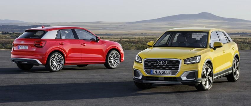 Audi Q2 – new compact crossover debuts in Geneva Image #451971
