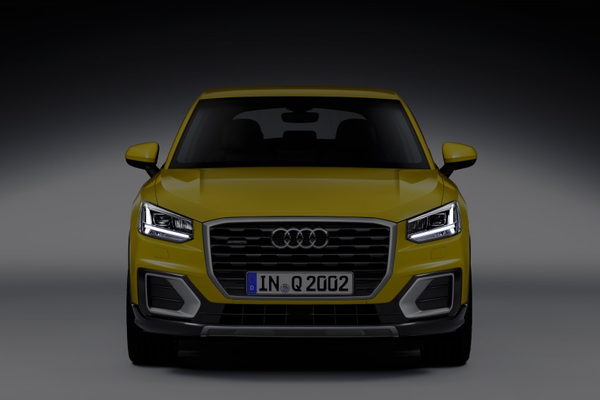 Audi Q2 – new compact crossover debuts in Geneva Image #451969