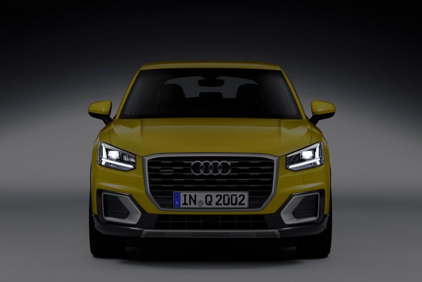 Audi Q2 – new compact crossover debuts in Geneva Image #451967
