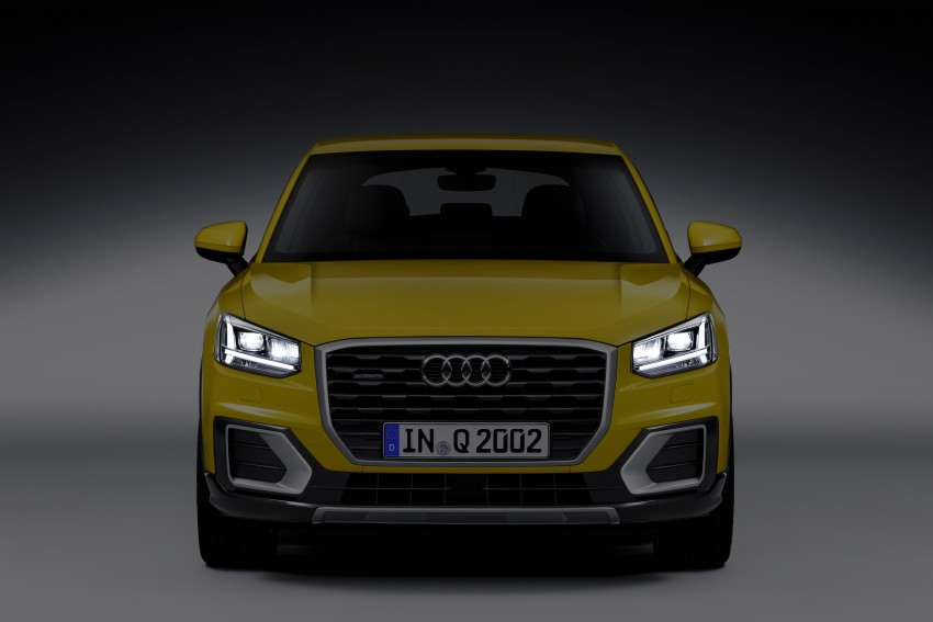 Audi Q2 – new compact crossover debuts in Geneva Image #451966