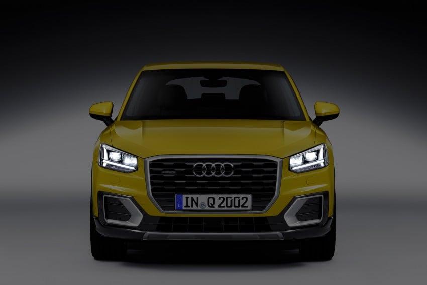 Audi Q2 – new compact crossover debuts in Geneva Image #451966