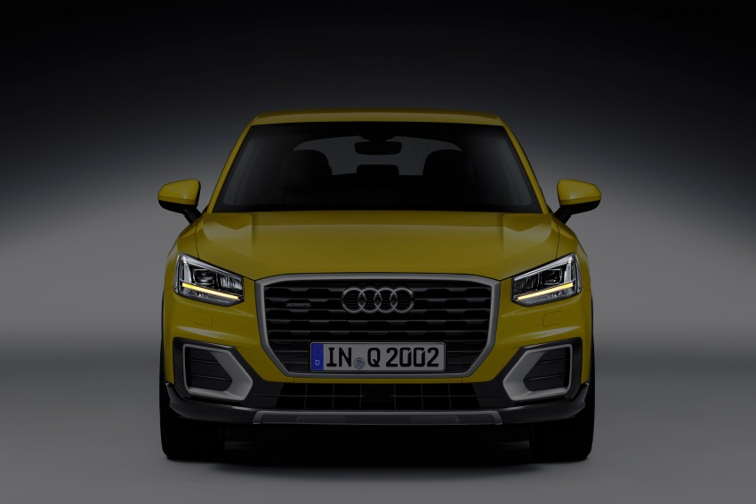 Audi Q2 – new compact crossover debuts in Geneva Image #451965