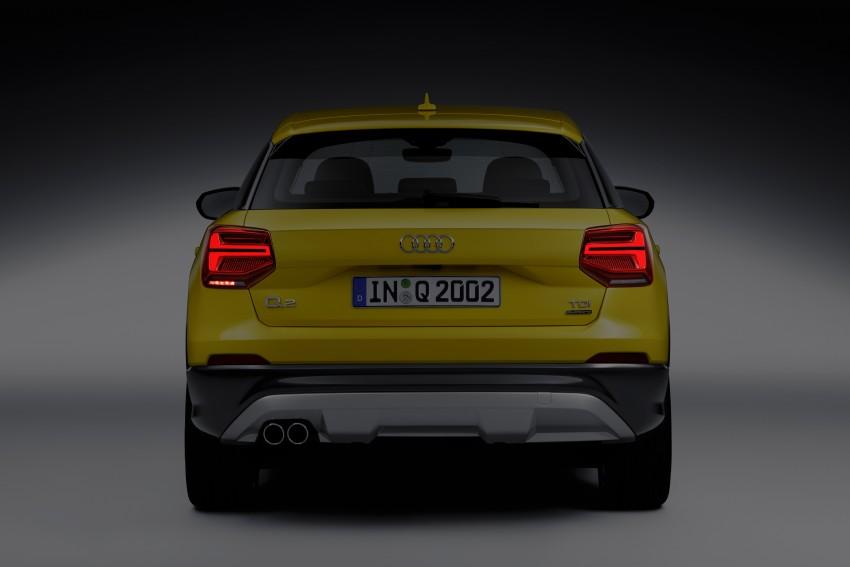 Audi Q2 – new compact crossover debuts in Geneva Image #451963