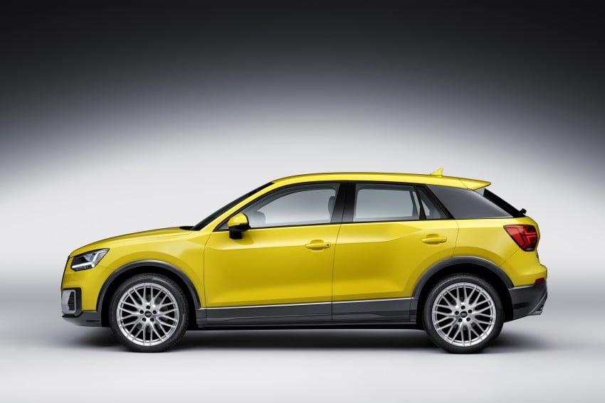Audi Q2 New Compact Crossover Debuts In Geneva Paul Tan