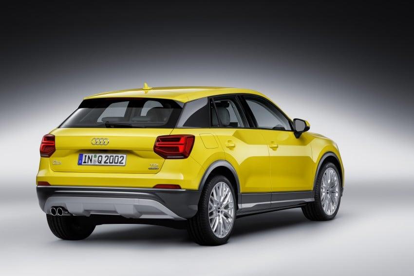 Audi Q2 – new compact crossover debuts in Geneva Image #451958