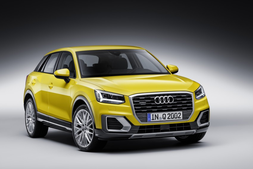 Audi Q2 – new compact crossover debuts in Geneva Image #451957