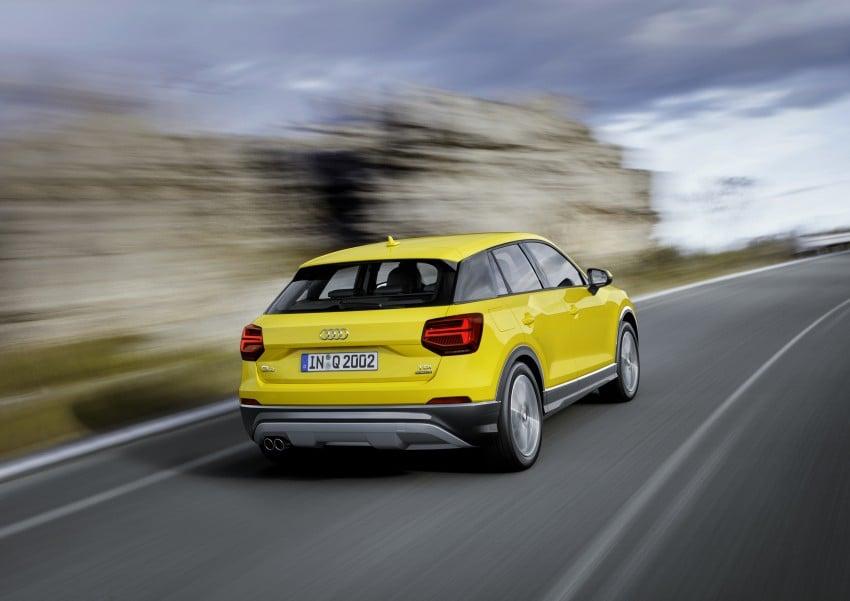 Audi Q2 – new compact crossover debuts in Geneva Image #451955