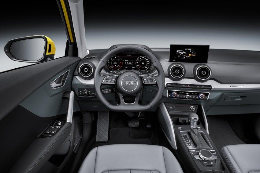 Audi Q2 – new compact crossover debuts in Geneva Image #451954