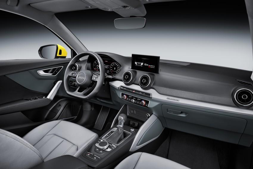 Audi Q2 – new compact crossover debuts in Geneva Image #451953