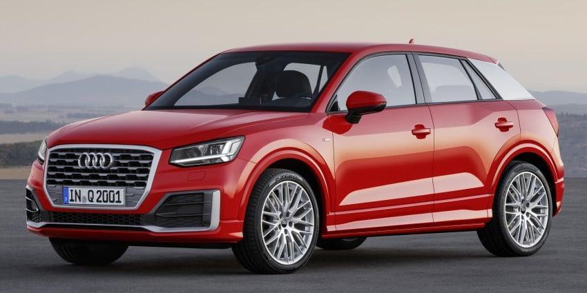 Audi Q2 – new compact crossover debuts in Geneva Image #451947
