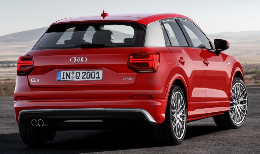 Audi Q2 – new compact crossover debuts in Geneva Image #451945