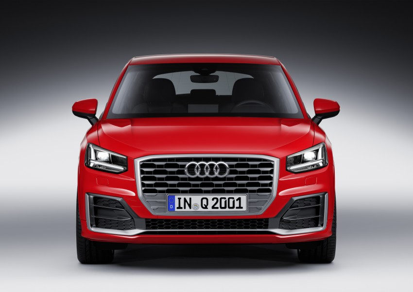 Audi Q2 – new compact crossover debuts in Geneva Image #451944