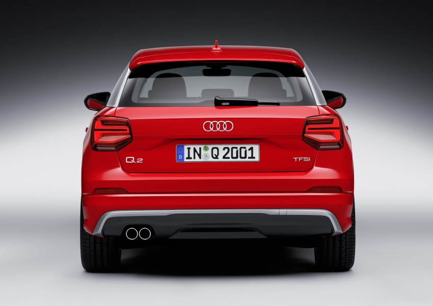 Audi Q2 – new compact crossover debuts in Geneva Image #451942