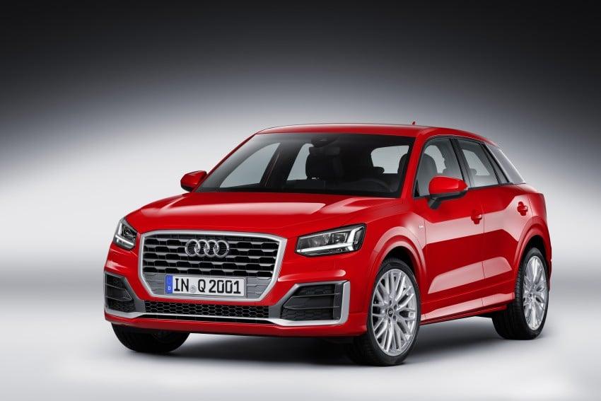 Audi Q2 – new compact crossover debuts in Geneva Image #451937