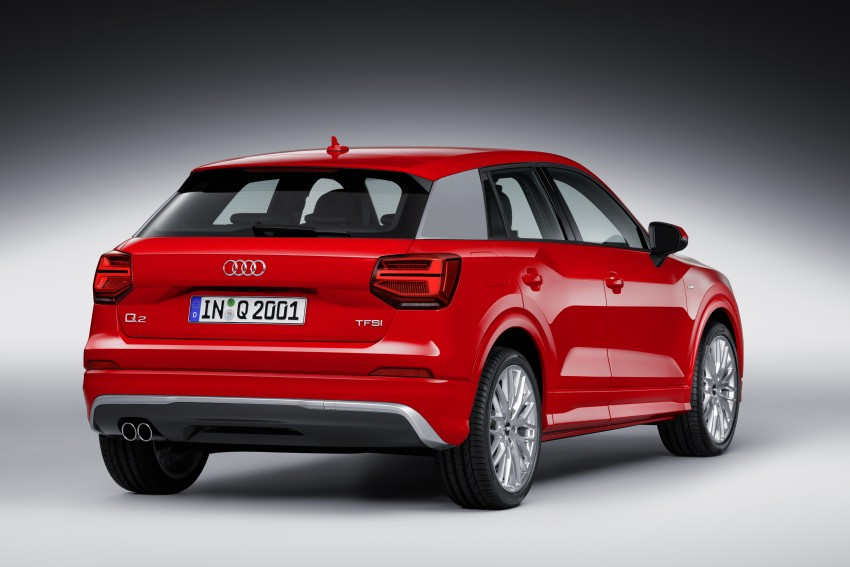 Audi Q2 – new compact crossover debuts in Geneva Image #451935
