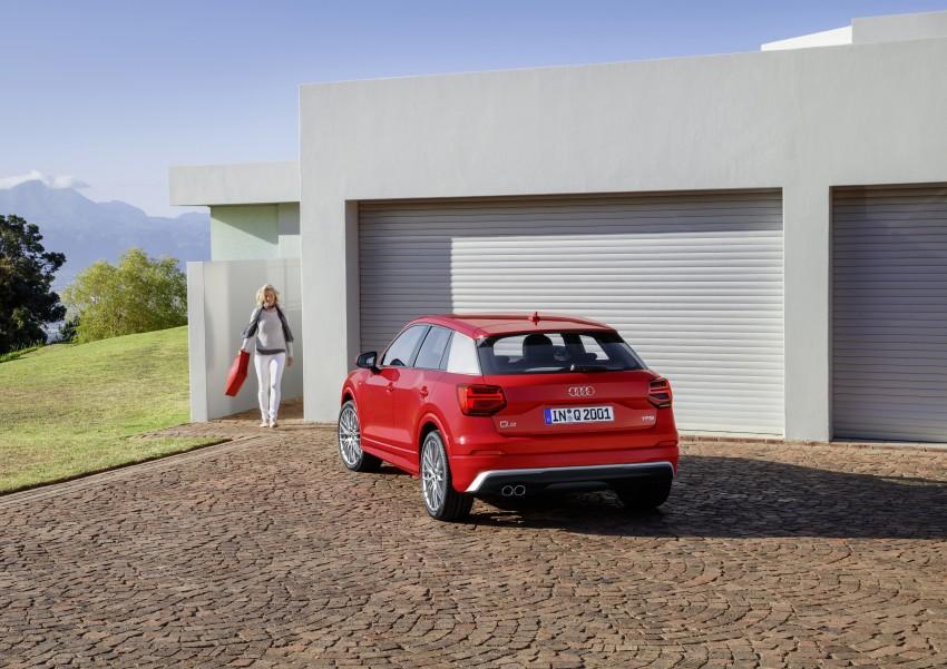 Audi Q2 – new compact crossover debuts in Geneva Image #451931