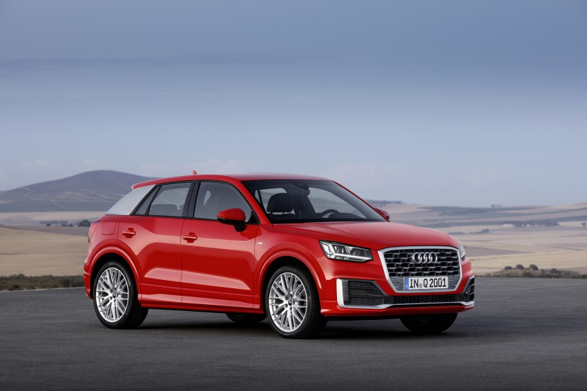 Audi Q2 – new compact crossover debuts in Geneva Image #451928