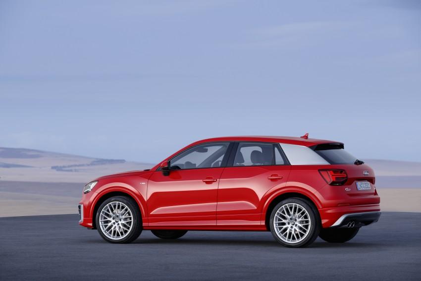 Audi Q2 – new compact crossover debuts in Geneva Image #451926