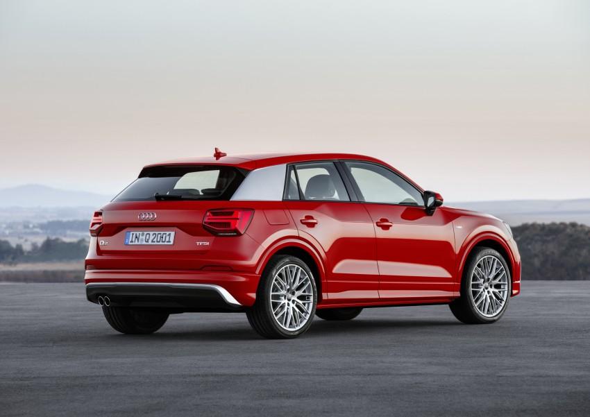 Audi Q2 – new compact crossover debuts in Geneva Image #451923