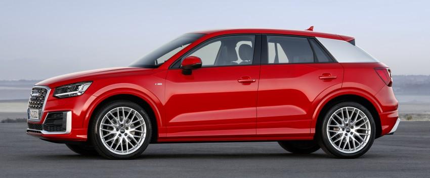 Audi Q2 – new compact crossover debuts in Geneva Image #451919