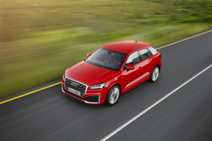 Audi Q2 – new compact crossover debuts in Geneva Image #451913