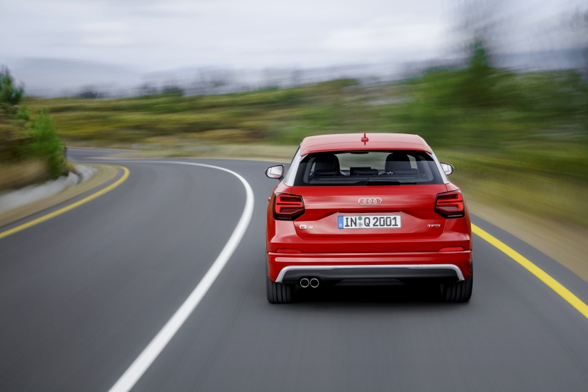 Audi Q2 – new compact crossover debuts in Geneva Image #451910