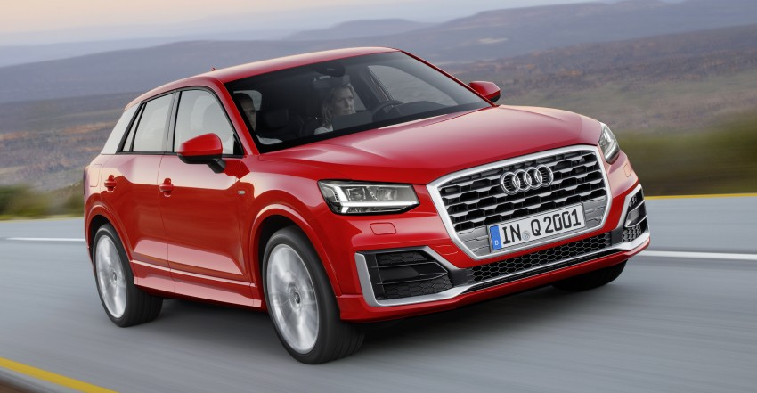 Audi Q2 – new compact crossover debuts in Geneva Image #451906