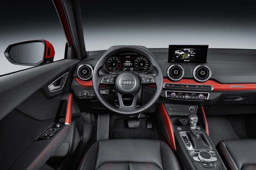 Audi Q2 – new compact crossover debuts in Geneva Image #451892