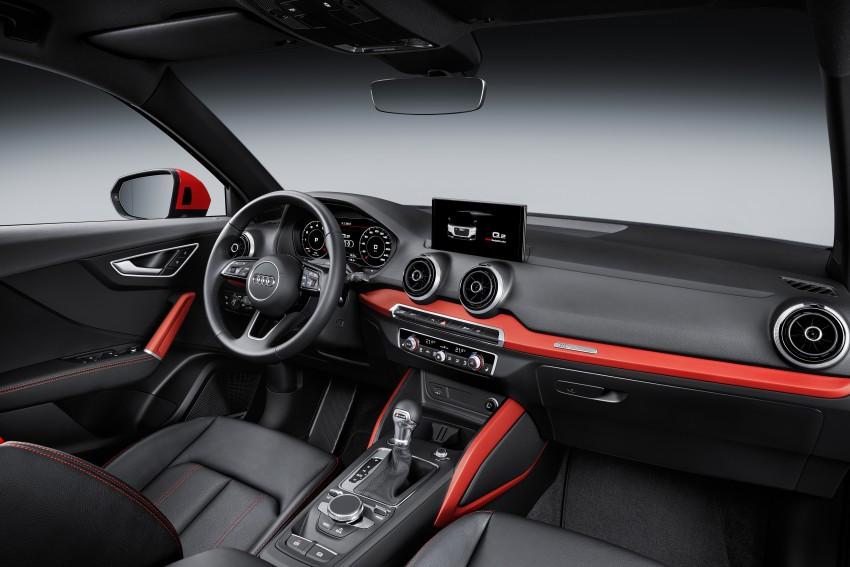 Audi Q2 – new compact crossover debuts in Geneva Image #451890