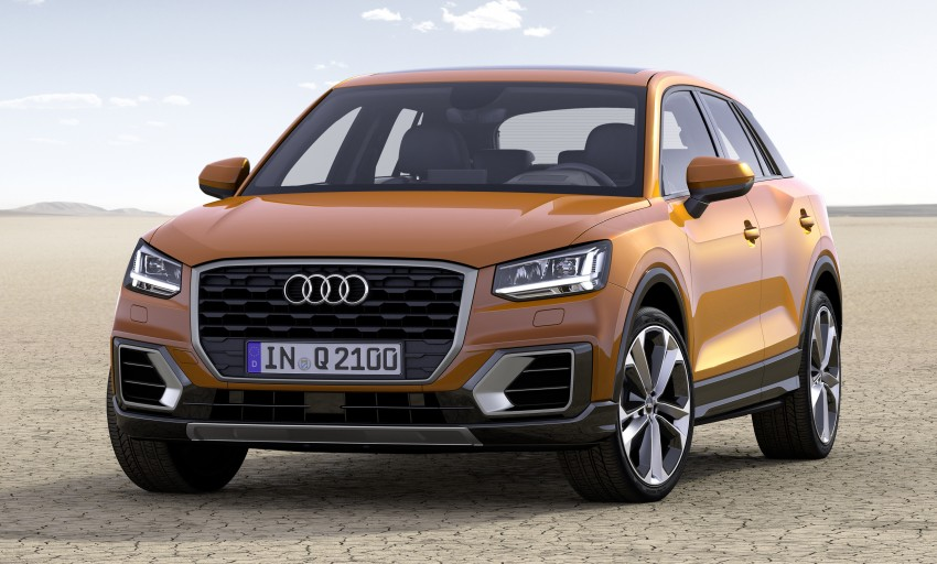 Audi Q2 – new compact crossover debuts in Geneva Image #451882