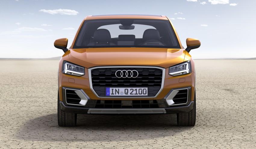 Audi Q2 – new compact crossover debuts in Geneva Image #451880