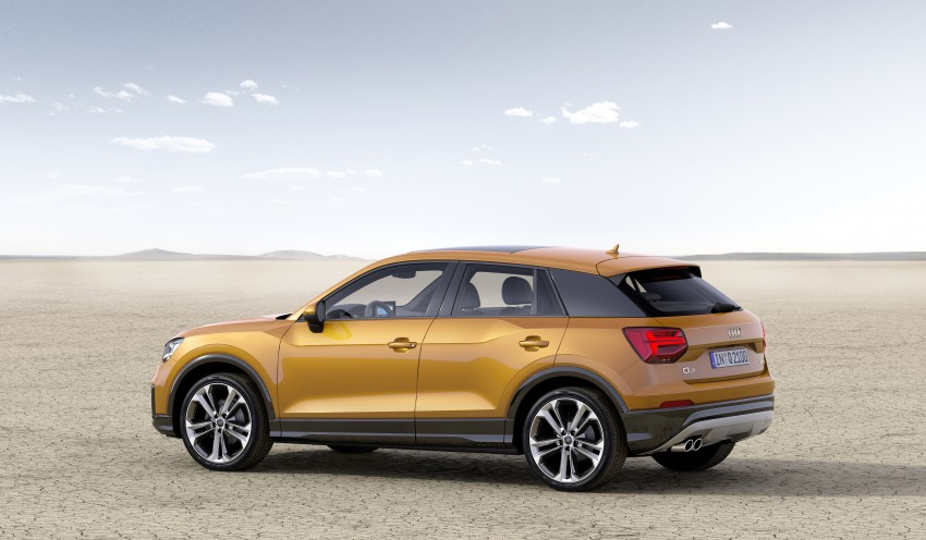 Audi Q2 – new compact crossover debuts in Geneva Image #451877