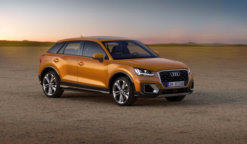 Audi Q2 – new compact crossover debuts in Geneva Image #451875