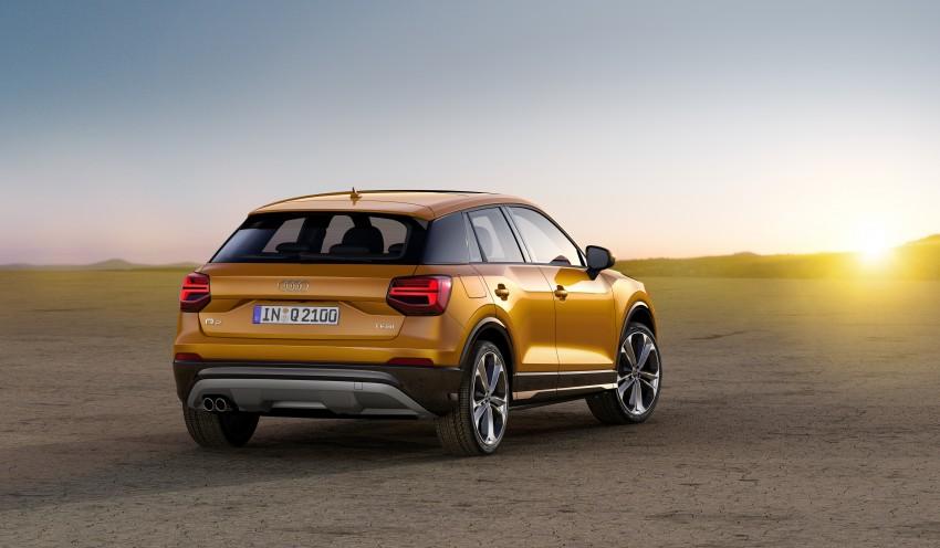 Audi Q2 – new compact crossover debuts in Geneva Image #451874