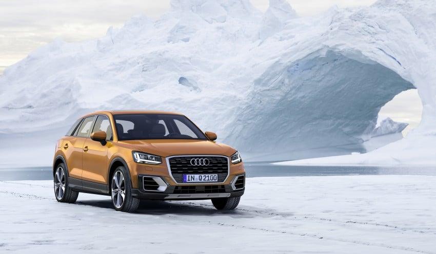 Audi Q2 – new compact crossover debuts in Geneva Image #451873