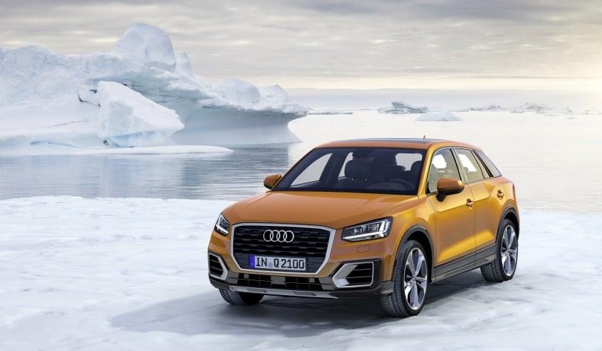 Audi Q2 – new compact crossover debuts in Geneva Image #451871