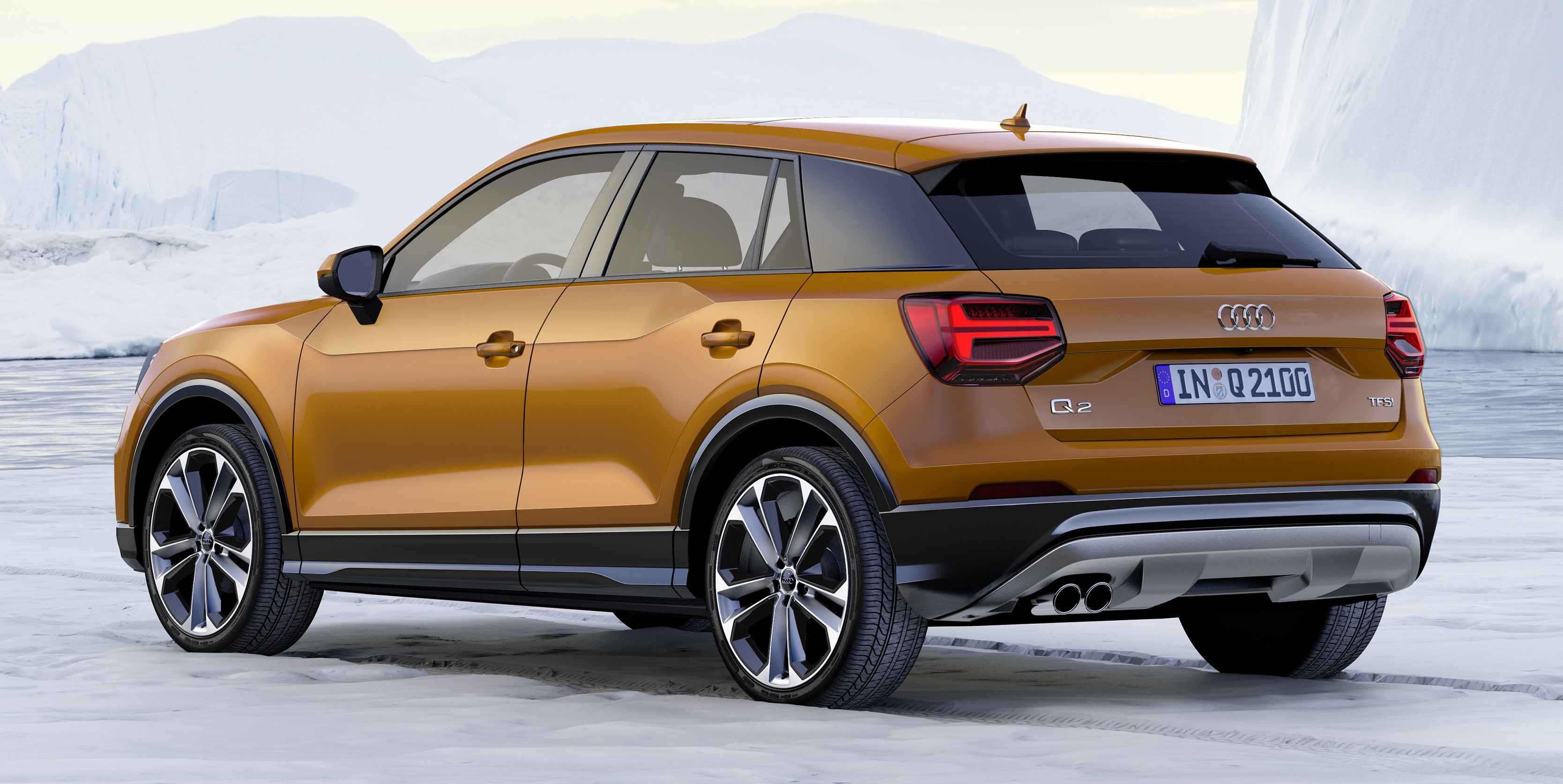audi q2 new compact crossover debuts in geneva image 451868. Black Bedroom Furniture Sets. Home Design Ideas