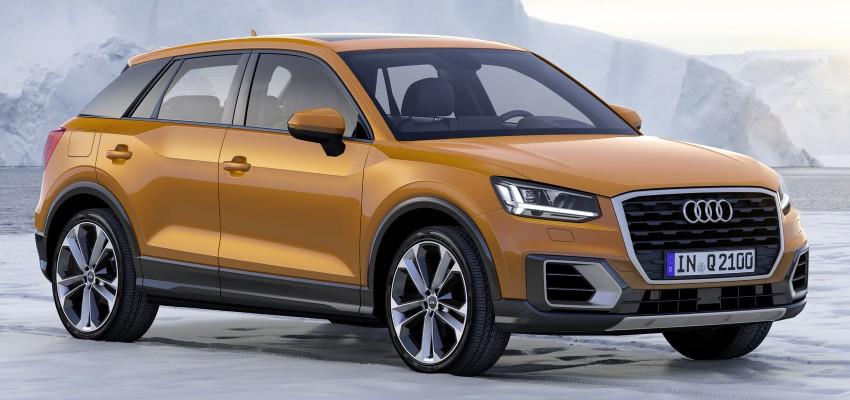 Audi Q2 – new compact crossover debuts in Geneva Image #451866