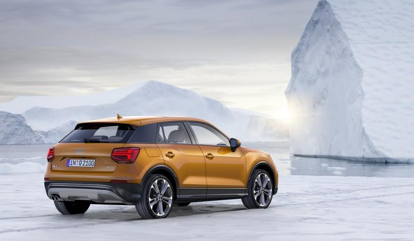Audi Q2 – new compact crossover debuts in Geneva Image #451865