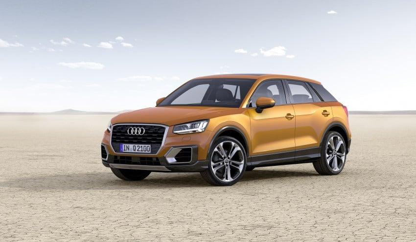 Audi Q2 – new compact crossover debuts in Geneva Image #451863