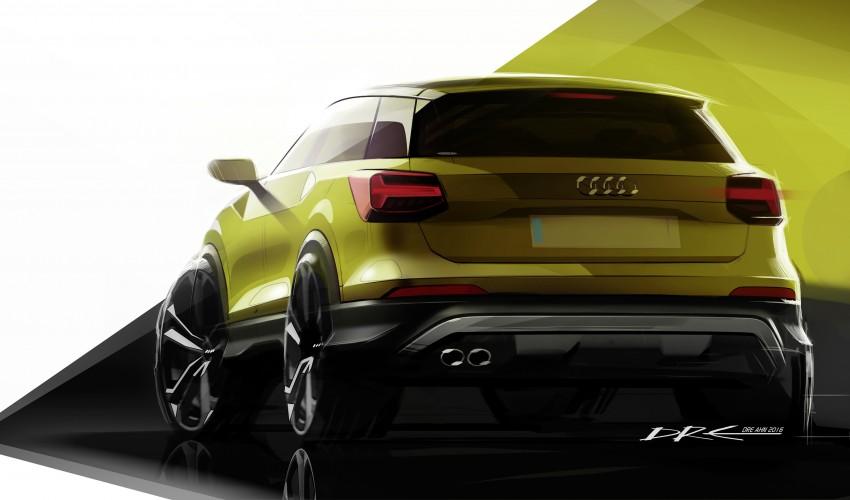 Audi Q2 – new compact crossover debuts in Geneva Image #451862
