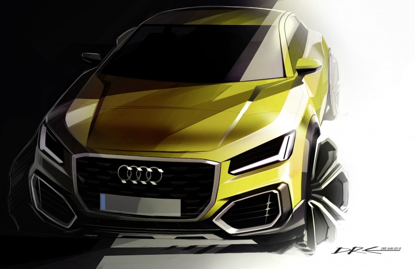 Audi Q2 – new compact crossover debuts in Geneva Image #451861
