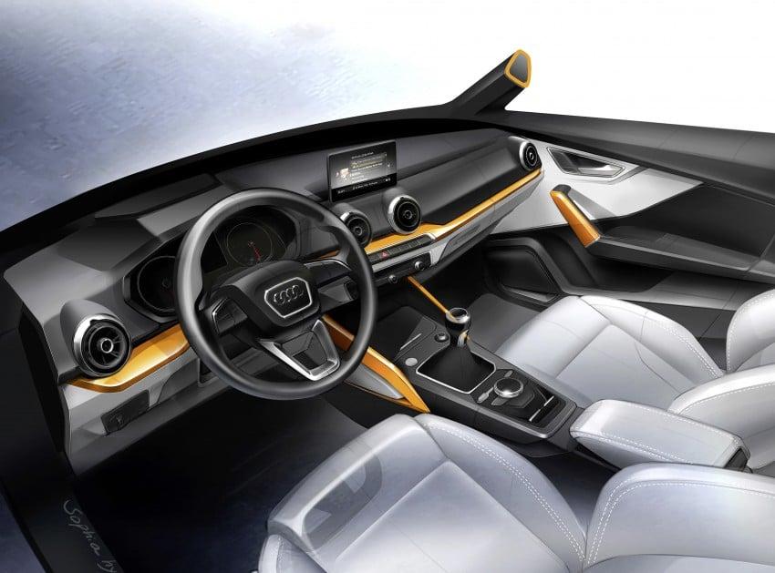 Audi Q2 – new compact crossover debuts in Geneva Image #451852