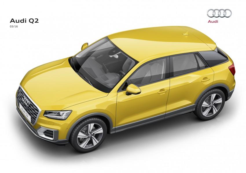Audi Q2 – new compact crossover debuts in Geneva Image #451851