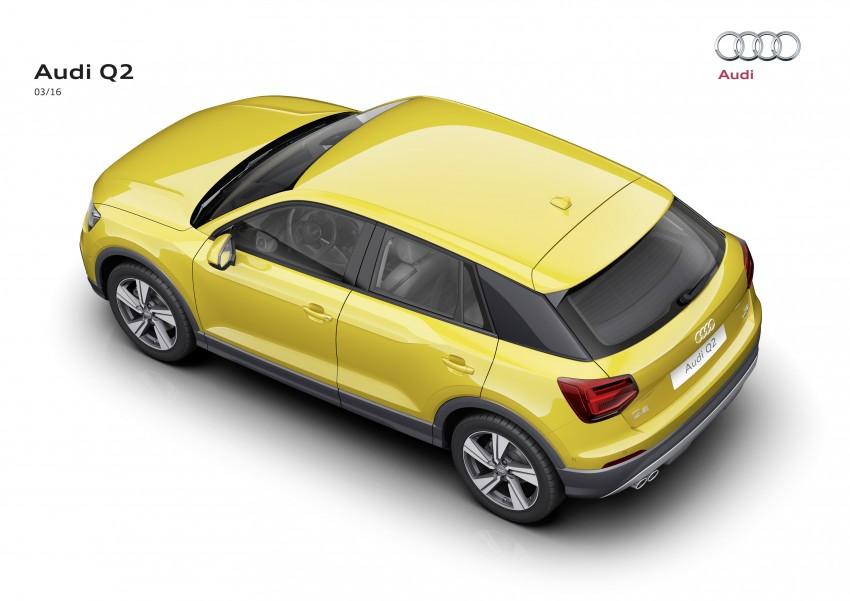 Audi Q2 – new compact crossover debuts in Geneva Image #451848