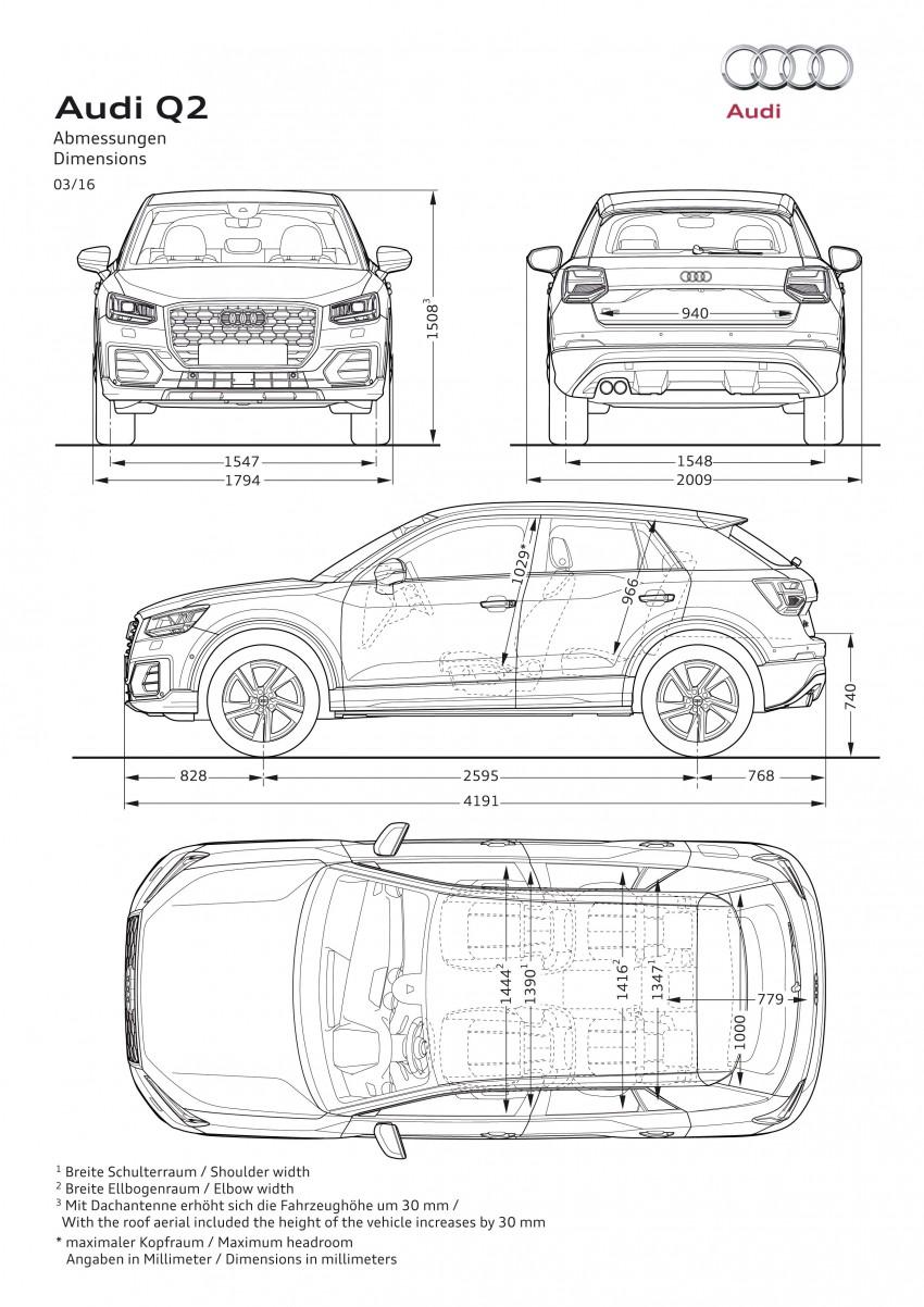 Audi Q2 – new compact crossover debuts in Geneva Image #451827