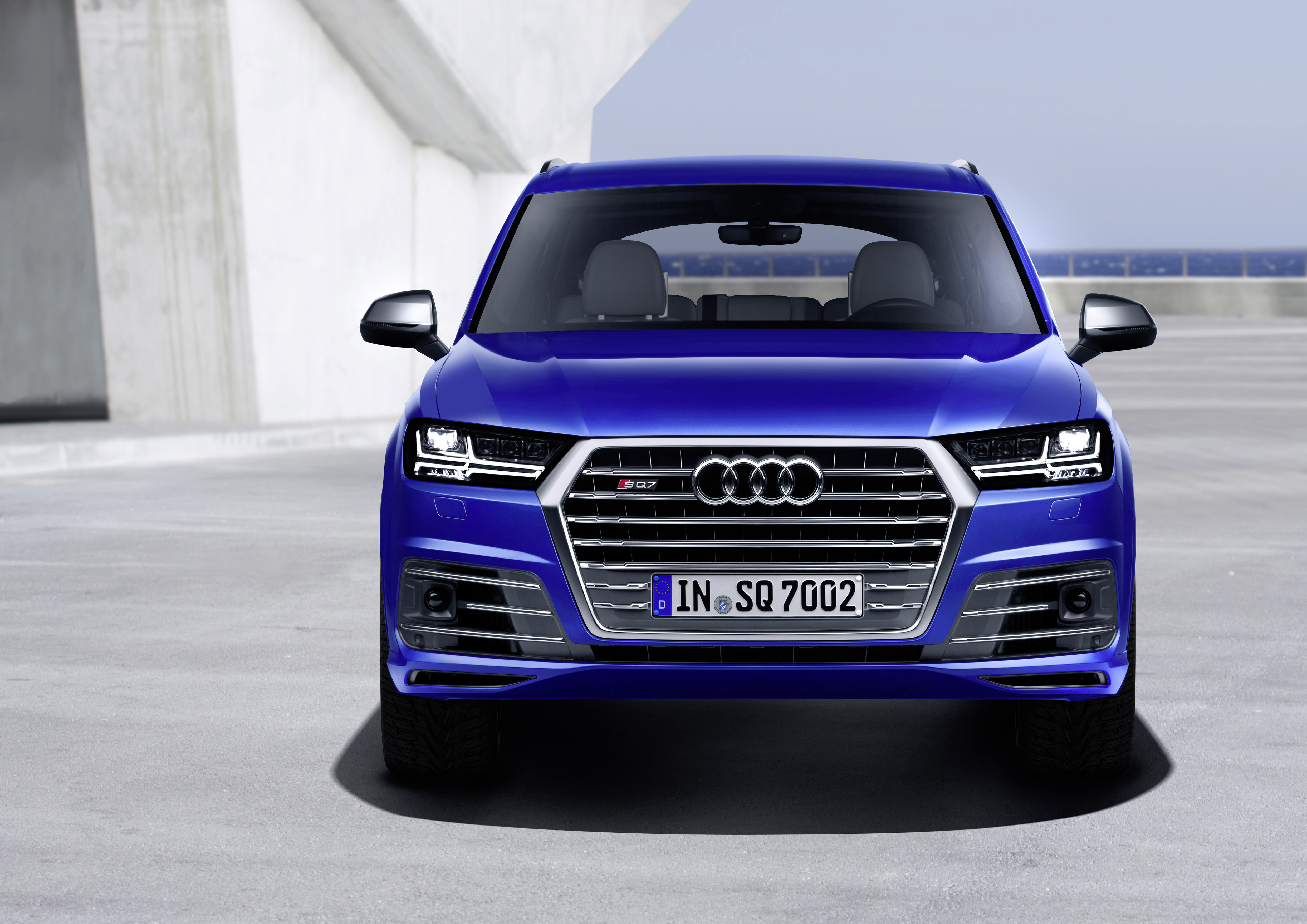 Audi Sq7 Tdi Kereta Produksi Turbo Elektrik Pertama